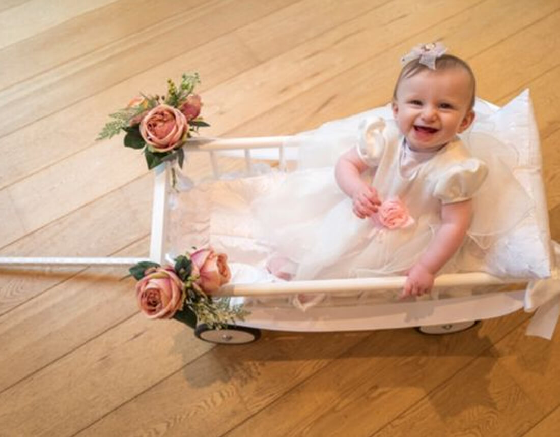 Wedding Baby Carriage