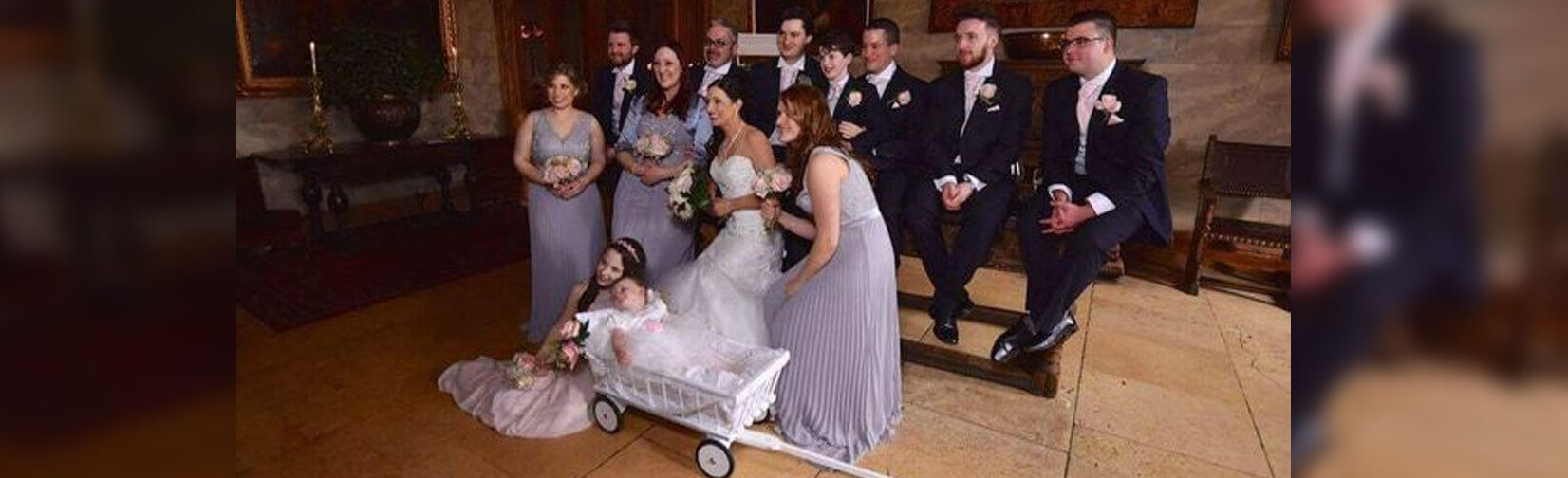 Baby Carriage is the latest Wedding Must Have