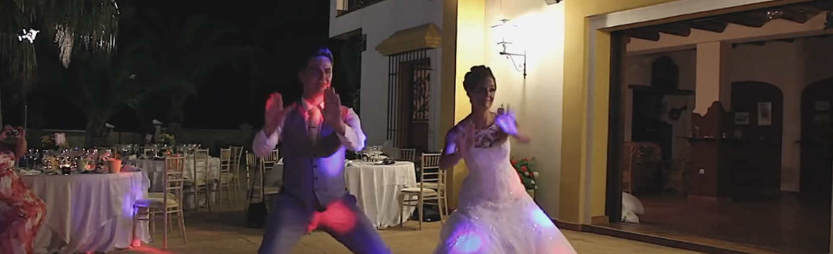 If you've ever dreamed of performing a choreographed dance at your wedding . . .