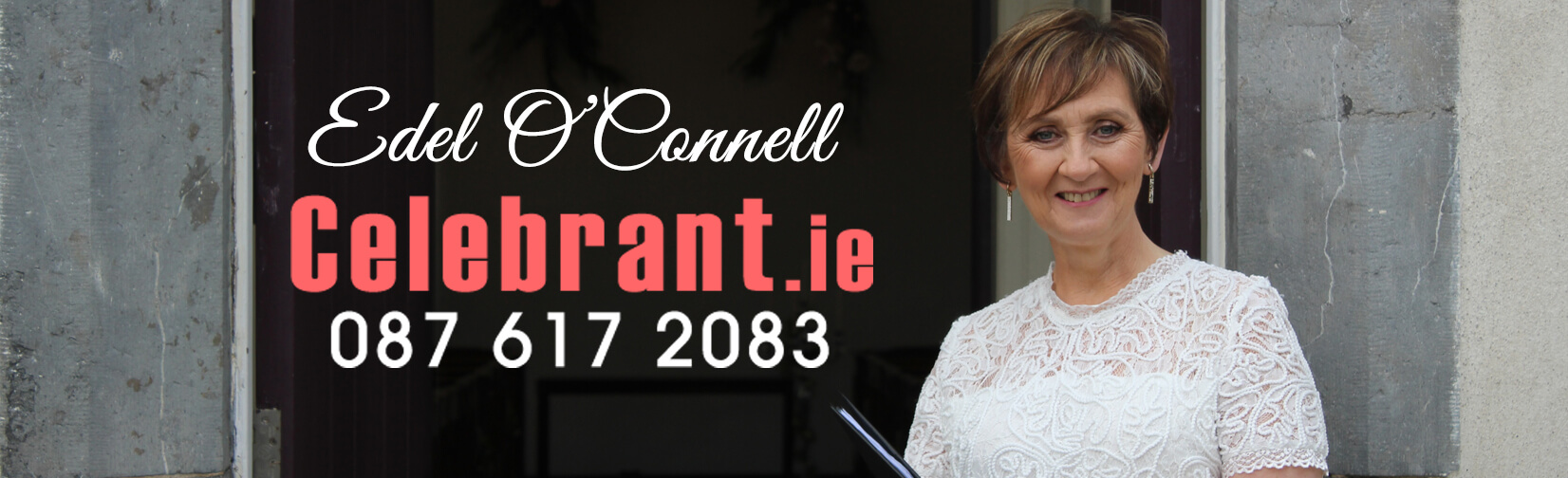 Lorraine McCarthy offers you the opportunity to celebrate your wedding your way