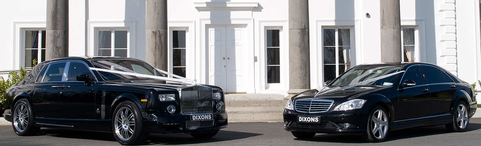 Dixons Wedding Limousines Mercedes Rolls Royce Bentley