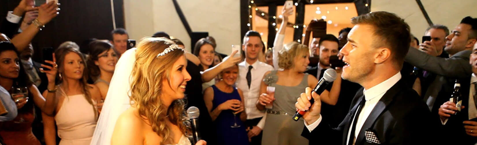 Could Gary Barlow Sing at Your Wedding?