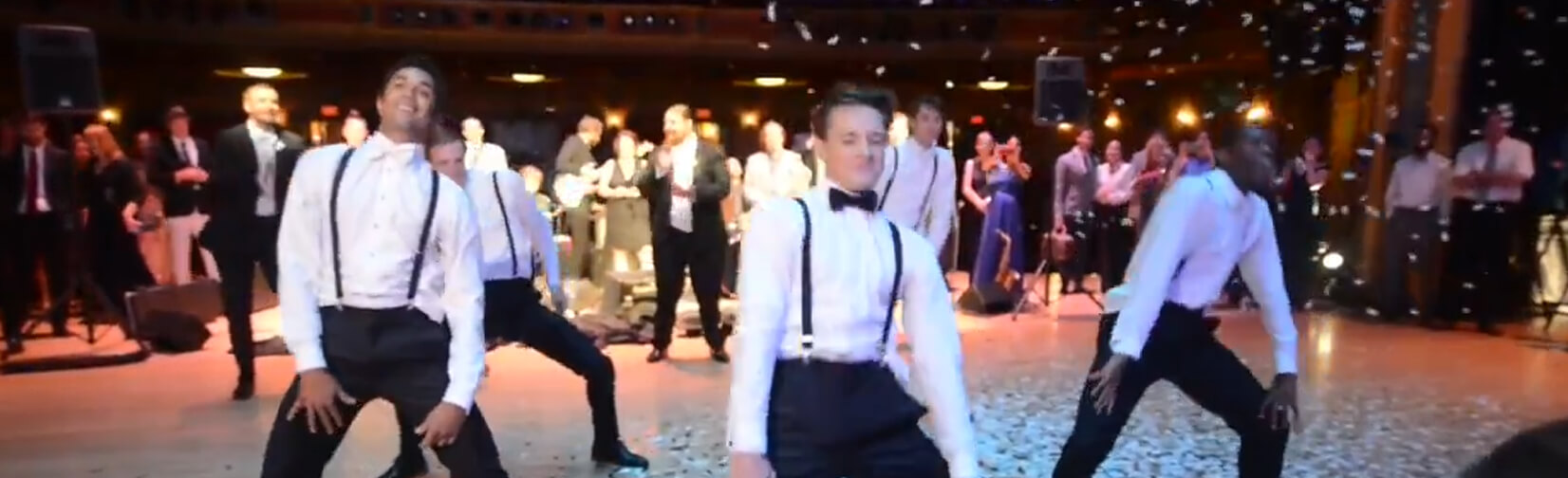 Groom Surprises Bride With EPIC Wedding Dance