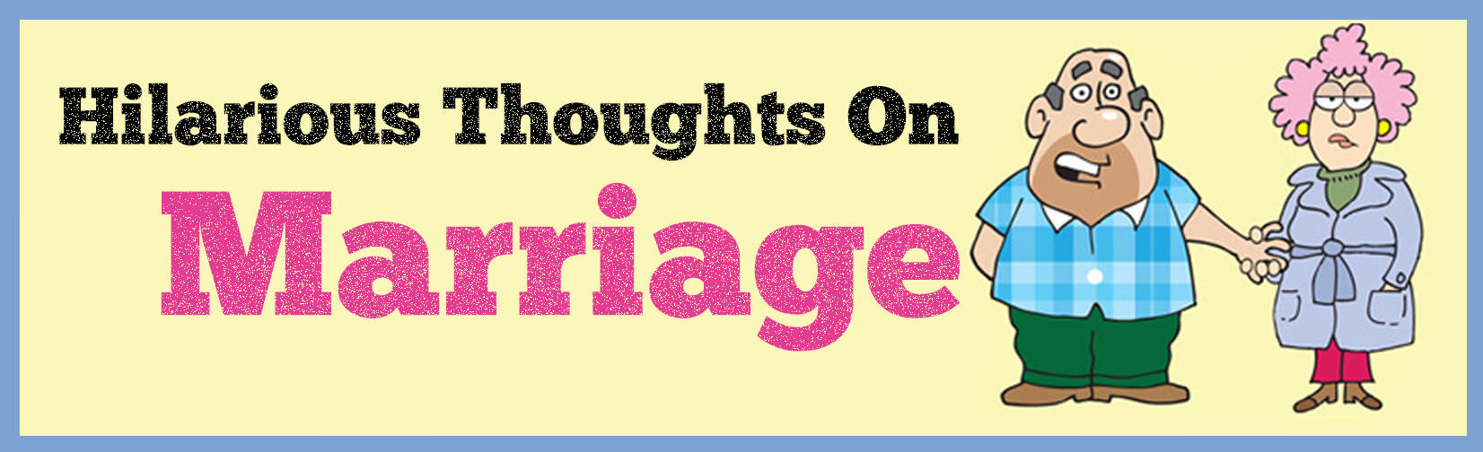 Thoughts on Marriage