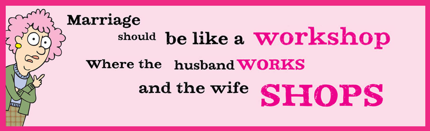 Marriage Is Like A Workshop