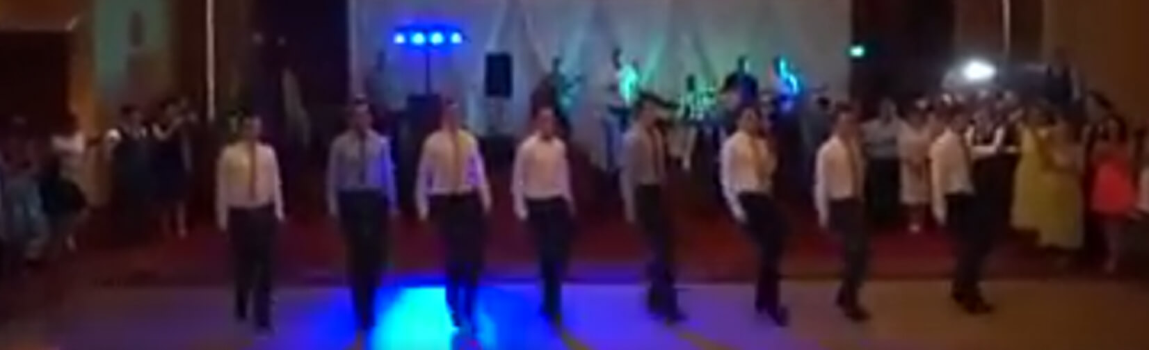 Irish groom gets old Irish dancing crew, back together for incredible wedding surprise