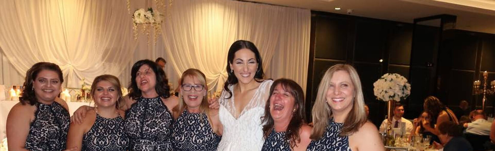six women turned up to a wedding in the same dress