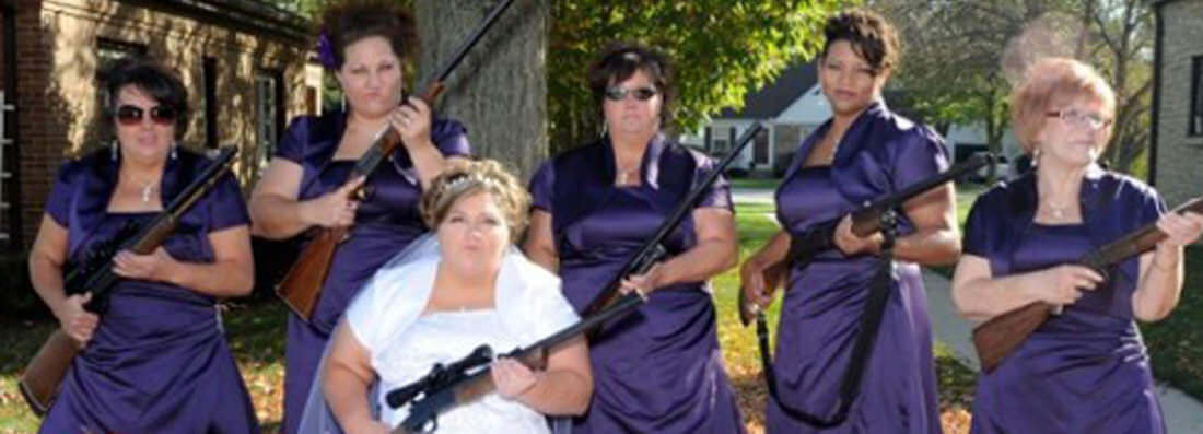 Strange Yet Funny Wedding Photographs From Gerry Duffy
