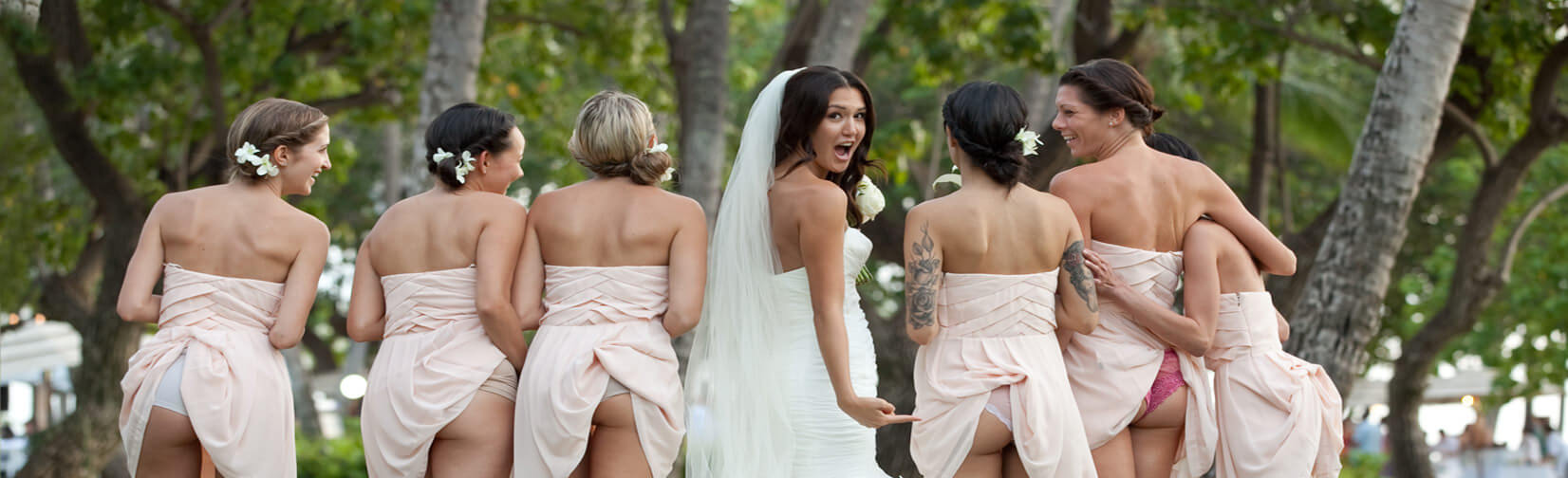 strange yet funny wedding pictures