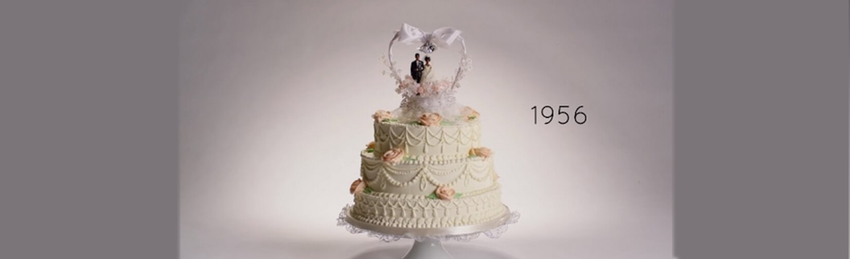 Stunning confections have evolved over the past 100 years