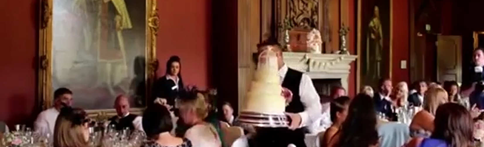 Would you put up with the antics of this Groom on your Wedding Day