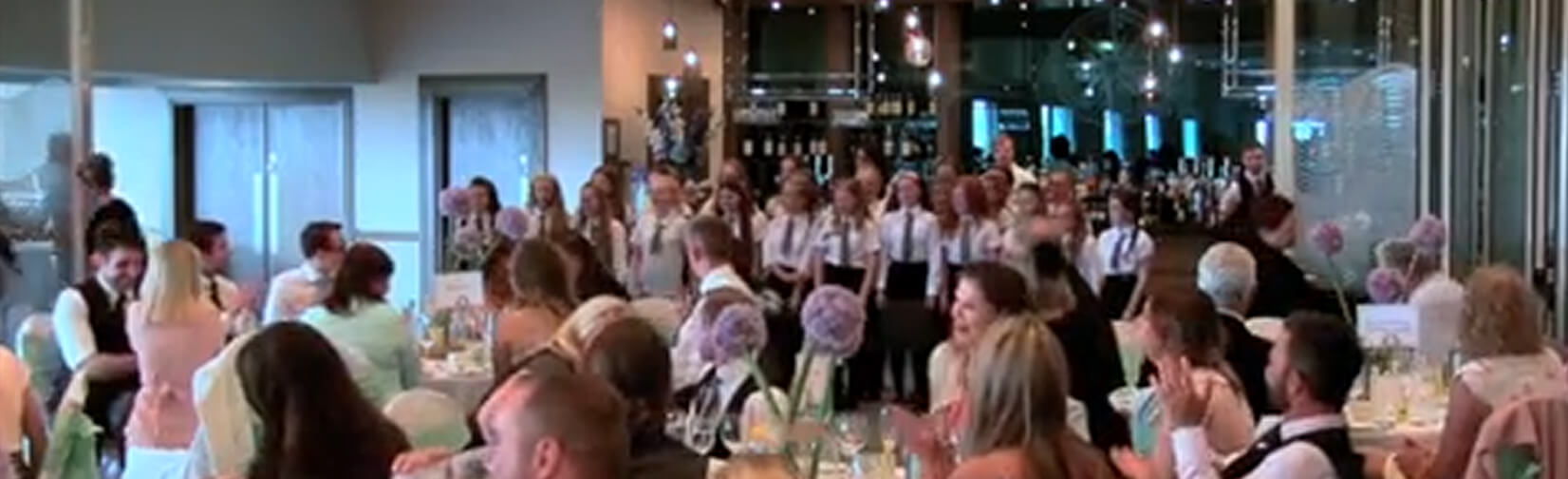 A PRIMARY school teacher surprised his new bride
