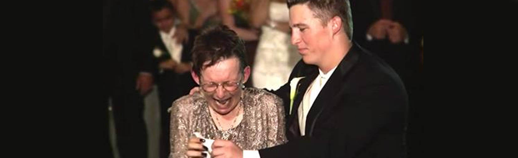 A Son's Last Dance, with his Mum