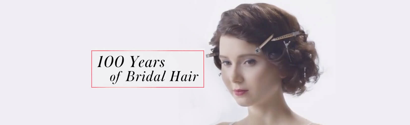 The evolution of wedding hair from 1920 to today