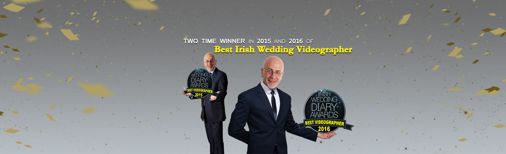 Winner of the BEST Videographer in Ireland