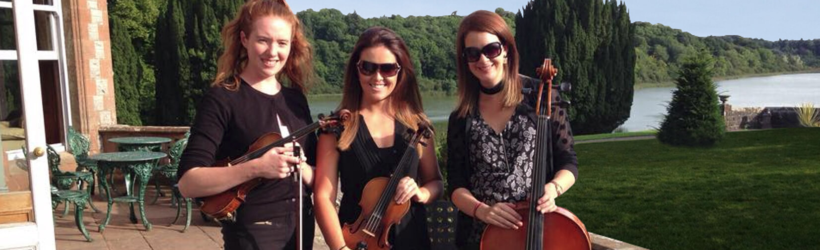 A talented string ensemble available for wedding receptions, ceremonies and other special occasions.