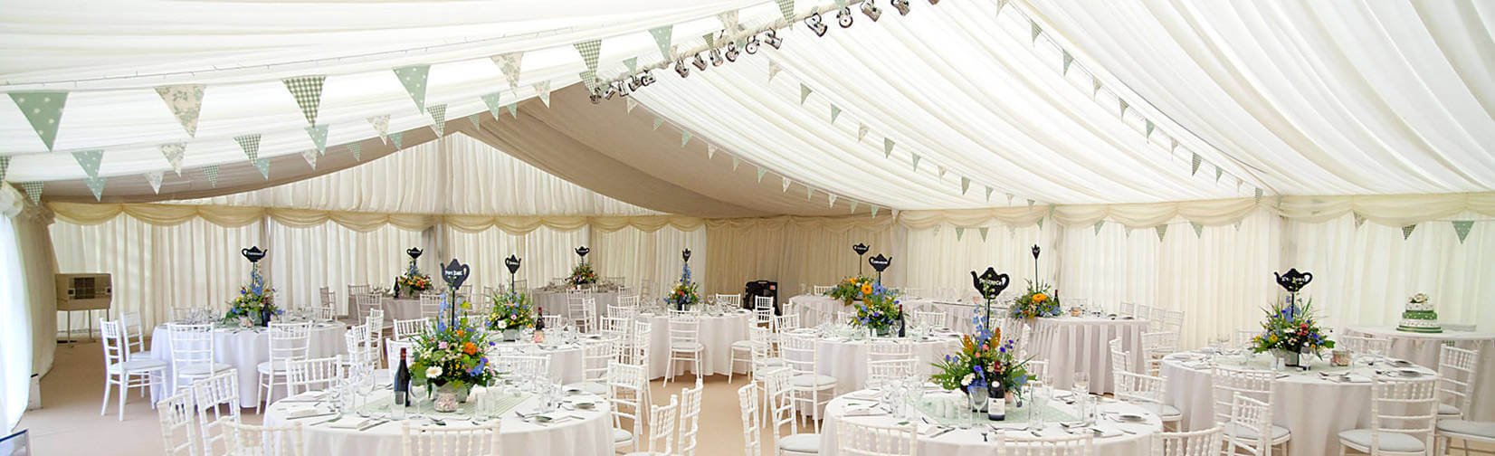 Providing Marquees, Furniture, Flooring, Gourmet Food, DJs and Wedding Entertainment